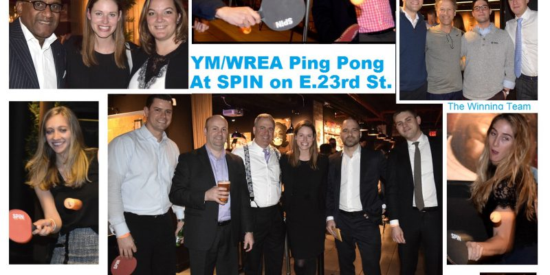 YM/WREA Ping Pong @ SPiN