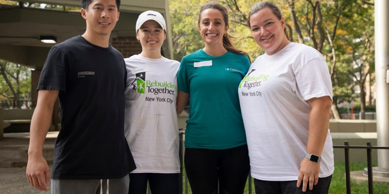 YM/WREA – Volunteer Day with Rebuilding Together NYC